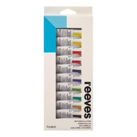 Reeves Water Colour Sets 12 x 10ml Tubes