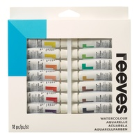 Reeves Water Colour Sets 18 x 10ml Tubes