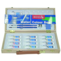 Deluxe Wooden Box Water Colour