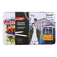 Jasart Colour Pencil Design - Tin 12