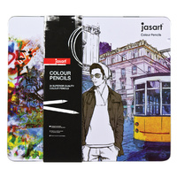 Jasart Colour Pencil Design - Tin 24