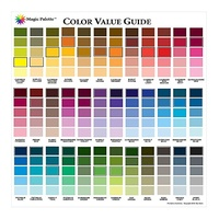 Magic Palette Artists Color Value Guide