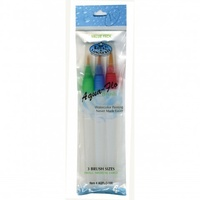 AQUA FLOW BRUSH SET  3 PIECE