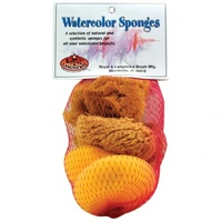 WATER SPONGE SET NATURAL & SYNTHETIC