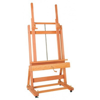 MABEF M02 PLUS STUDIO LUGANO EASEL-WITH CRANK