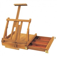 CONDA STORAGE BOX WITH EASEL 41X38X13CM