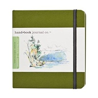 JOURNAL CAD GREEN 5.5X5.5 SQUARE