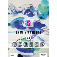 AS Draw & Wash Pad A4 210gsm Textured