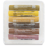 SET of 6 PASTELS - AUTUMN EARTHS