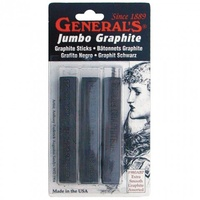 Generals Jumbo Graphite Blister pk of 3