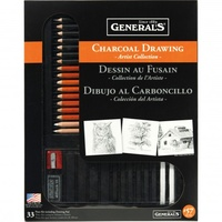 Generals Complete Charcoal Assorted Set #57