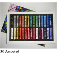 AS PASTEL SET 30 ASST. - CARD BOX
