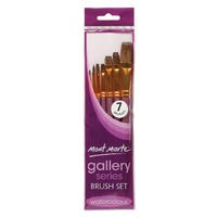 M.M. Gallery Series Brush Set Watercolour 7pce