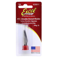 EXCEL CRAFT KNIFE REPLACEMENT BLADES -Pack5.