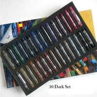 AS PASTEL SET 30 DARKS -CARD BOX