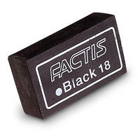 Factis Black Soft Eraser