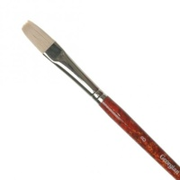 Daler Rowney - Georgian - G48 Hog Brush - Long Flat