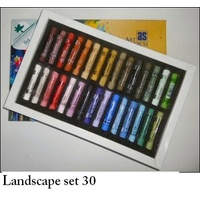 AS PASTEL SET 30 LANDSCAPE-CARD BOX