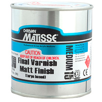 MATISSE 250ml MATT TURPS VARNISH