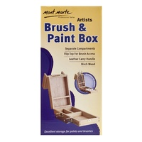 M.M. Small Brush/Paint Box