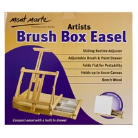 M.M. Big Desk Easel w/box - Beech