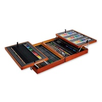 M.M. Studio Essentials Mixed Media Art Set 174pce
