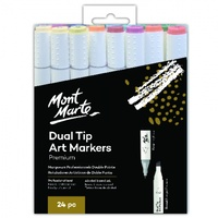 Dual Tip Alcohol Art Markers 24pc