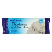 M.M. Air Hardening Modelling Clay - White 500gms