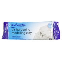 M.M. Air Hardening Modelling Clay - White 2kgs