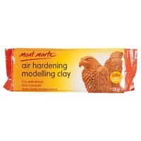 M.M. Air Hardening Modelling Clay - Terracotta 2kg