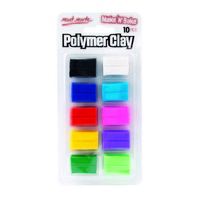 M.M. Make n Bake Polymer Clay 10pce