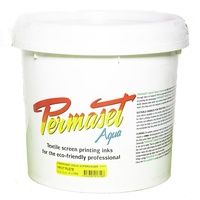 PERMASET AQUA SCREEN PRINT INK 4Ltr PRINT PASTE