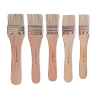 Prime Art Flat Varnish Brushes