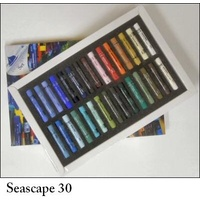 AS PASTEL SET 30 SEASCAPE-CARD BOX