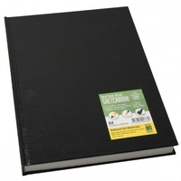 SKETCH BOOK BLK A3 HARDCASE BOUND 80 PAGES
