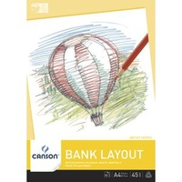 Bank Layout Pad, 50 sheets