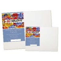 Be Creative Cotton Canvas Panels