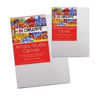 Be Creative Thin Stretched Studio Canvas