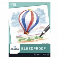 Canson Bleedproof Pad, 50 sheets, A4