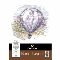 Bond Layout Pad, 50 sheets