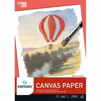 Canvas Paper Pad, 10 sheets