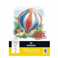 Canson Drawing Pad – Maxi – Wire bound, 100 sheets, A3