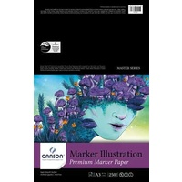 Canson Marker Illustration Pad, 20 sheets, A3