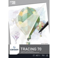 Canson Tracing 50 Pad, 50 sheets, A2