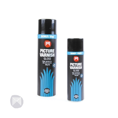 MICADOR GLOSS PICTURE VARNISH AEROSOL 450g