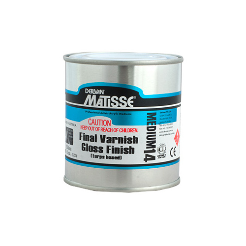 MATISSE 250ml GLOSS TURPS VARNISH