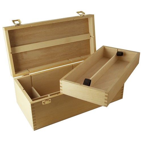 M.M. Artists Storage Box Beech