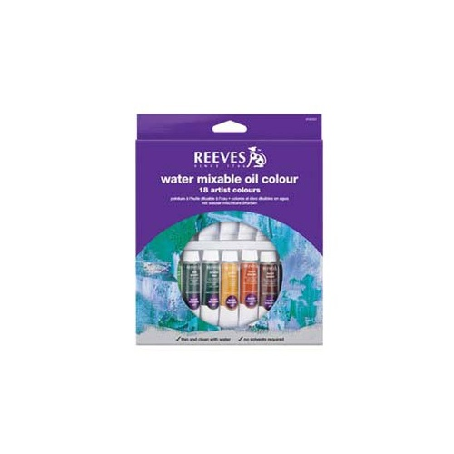 Reeves Water Soluble Oil Paint Sets